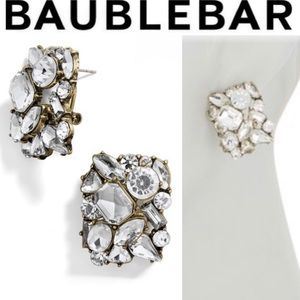 BAUBLEBAR Crystal Cluster Stud Earrings
